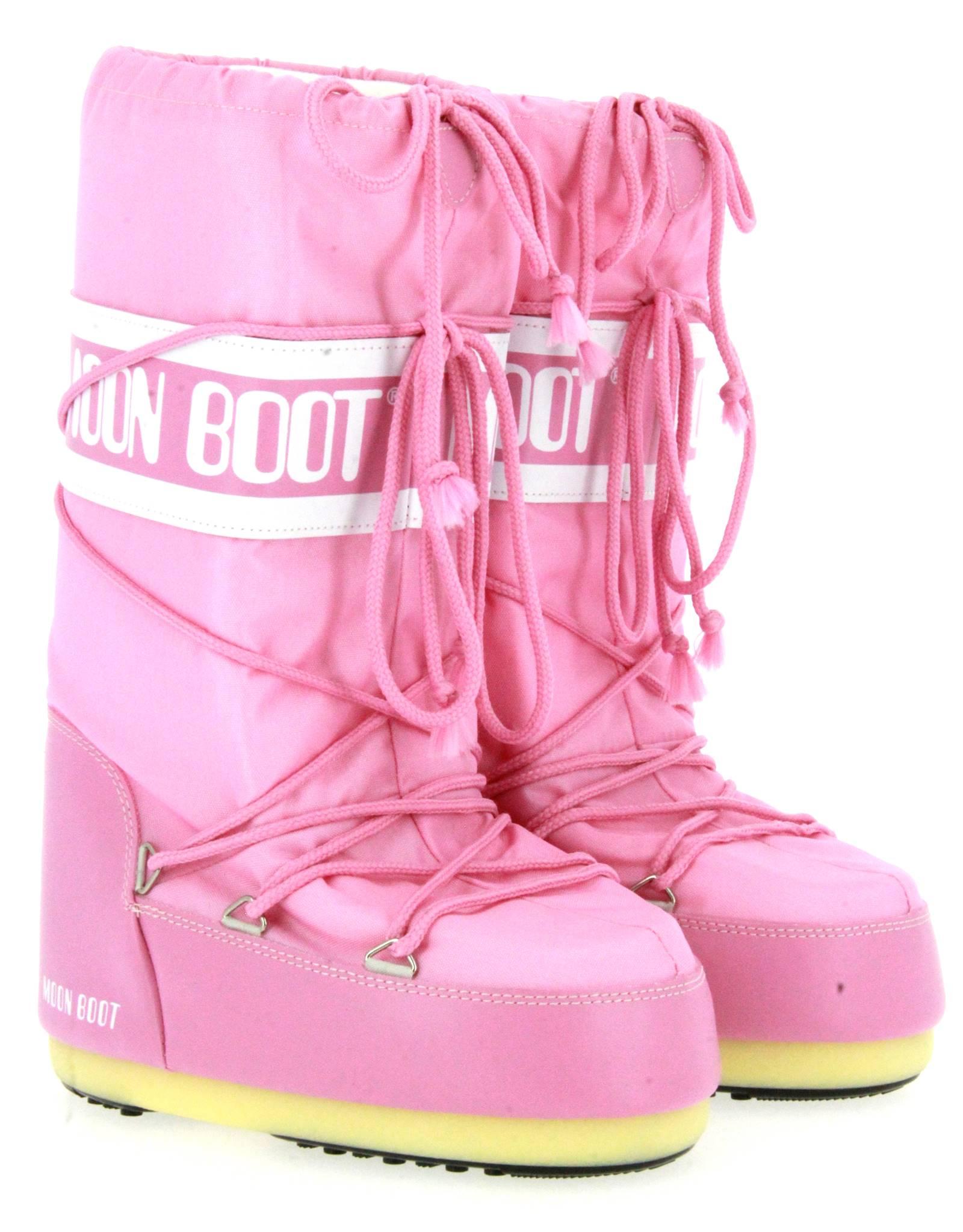 Moon Boot snow boots NYLON PINK