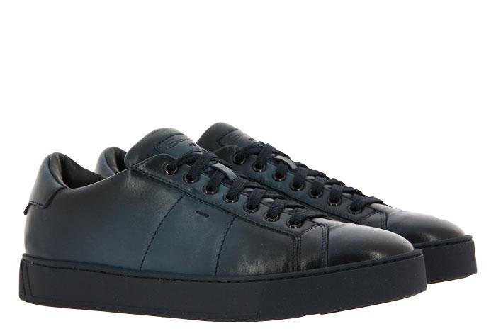 Santoni sneaker NAPPA BLU