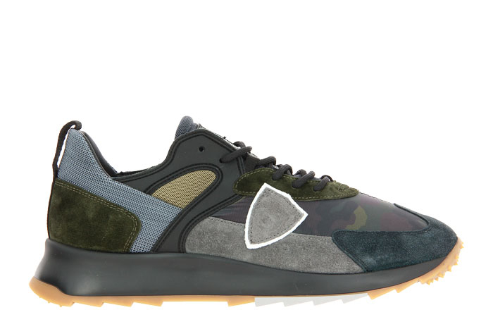 Philippe Model sneaker ROYALE CAMOUFLAGE MILITAIRE