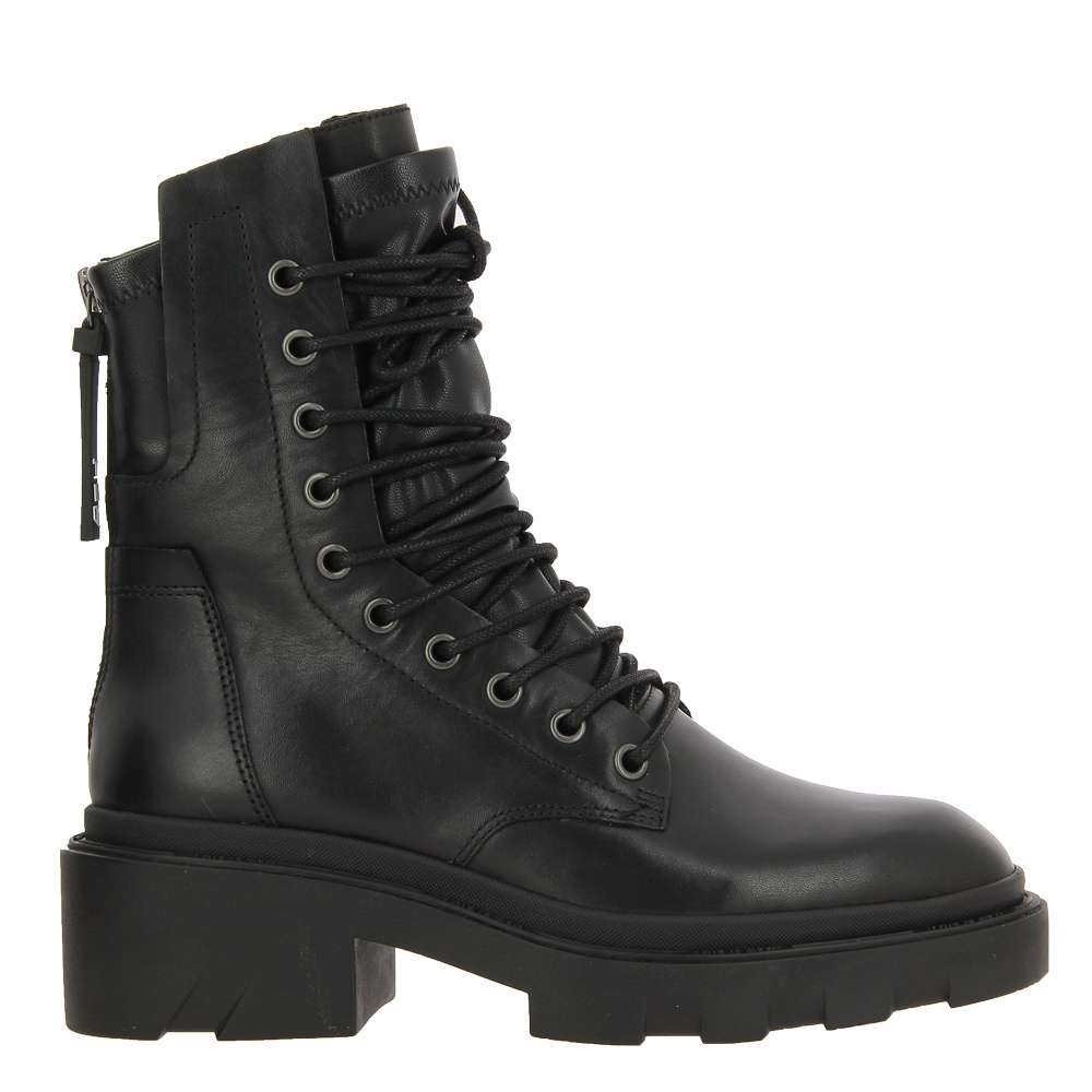 ASH lace-up boots MADNESS BLACK