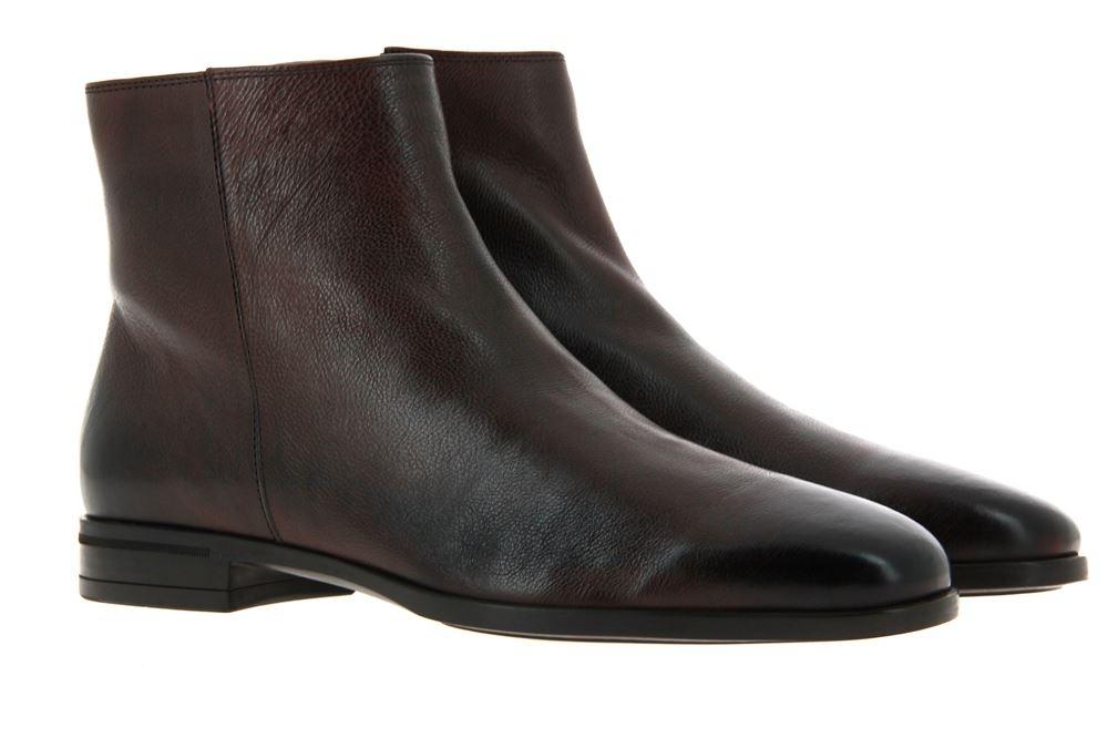 Hugo Boss ankle boots KENNSINGTON DARK BROWN