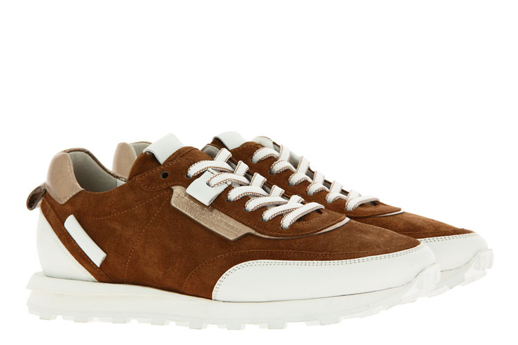 Kennel and Schmenger sneaker ICON SUEDE CALF BOURB/BIANCO