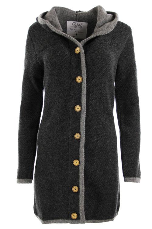 Liebling Tyrolean jacket BENEDIKTA ANTHRAZIT GRAU