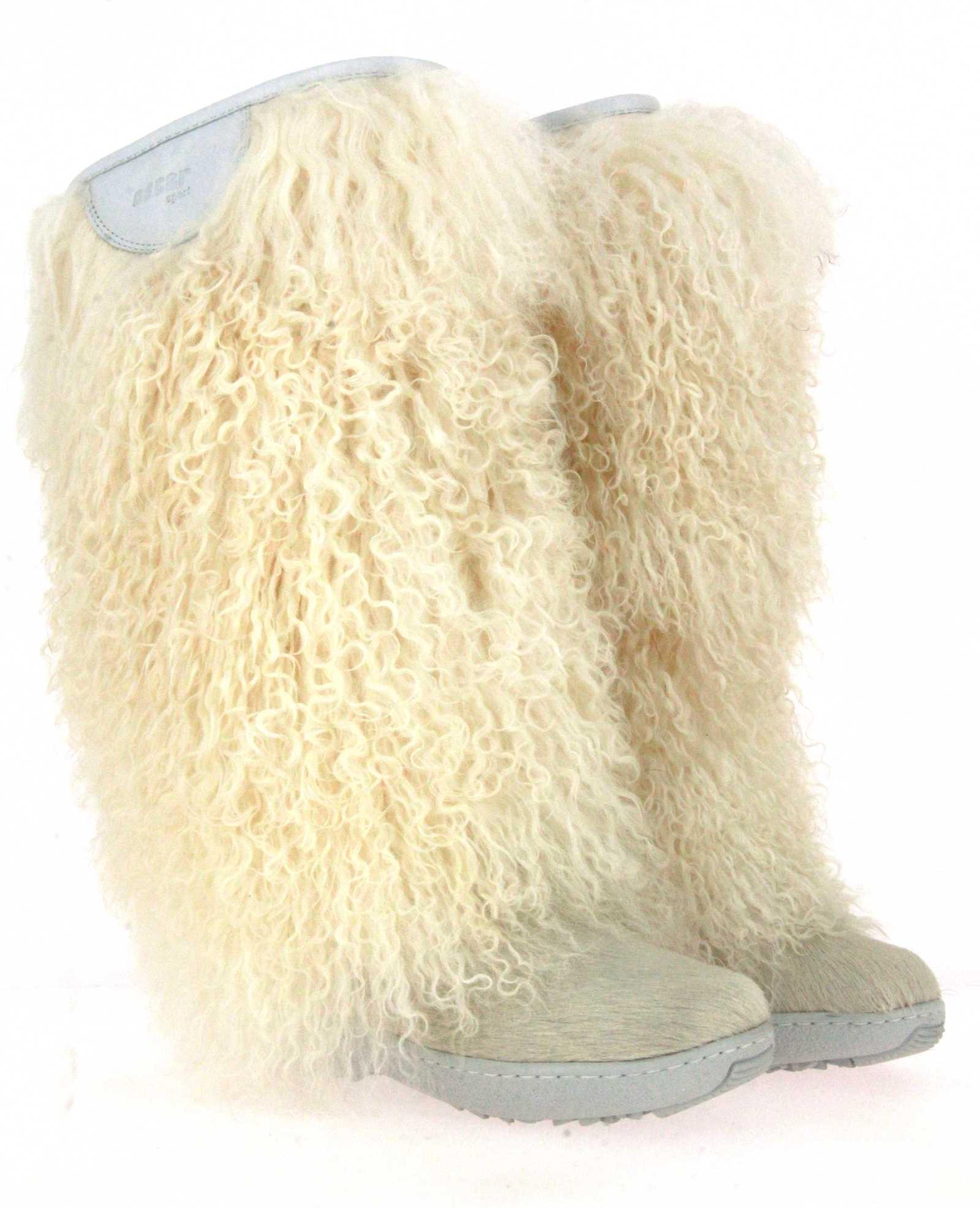 Oscar Sport fur boots DORIS-18 BIANCO