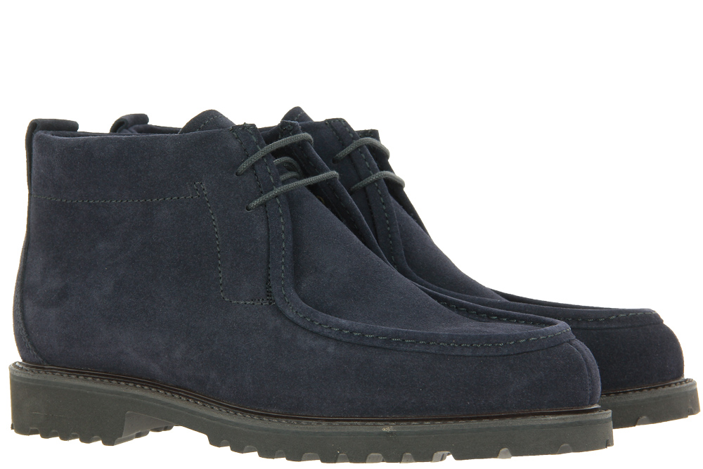 Ludwig Reiter ankle boots lined TOURING BOOT MARINEBLAU