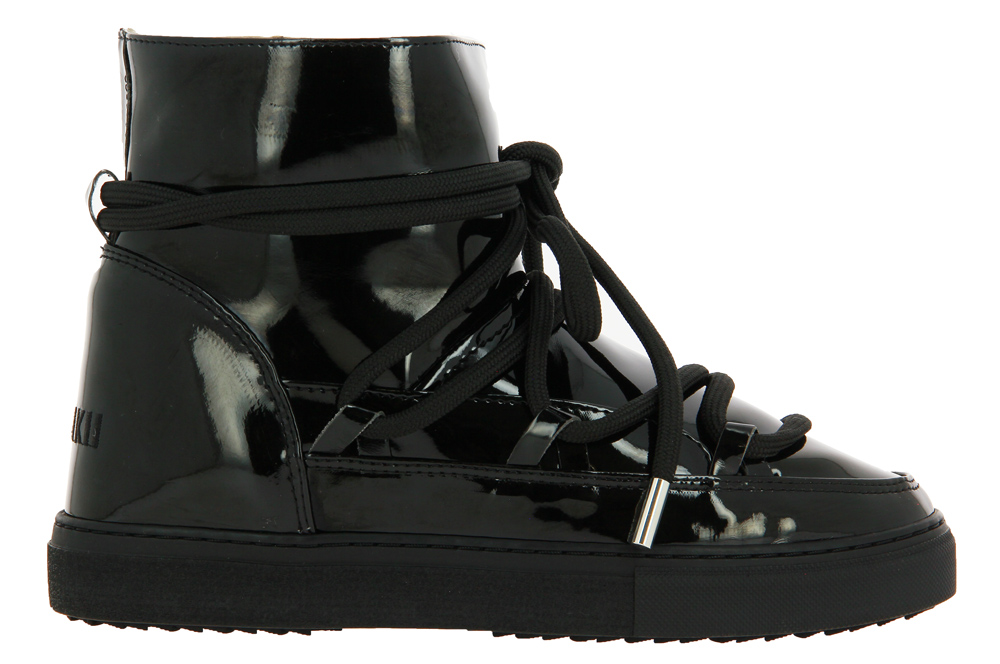 INUIKII sneaker boots lined RAIN BLACK