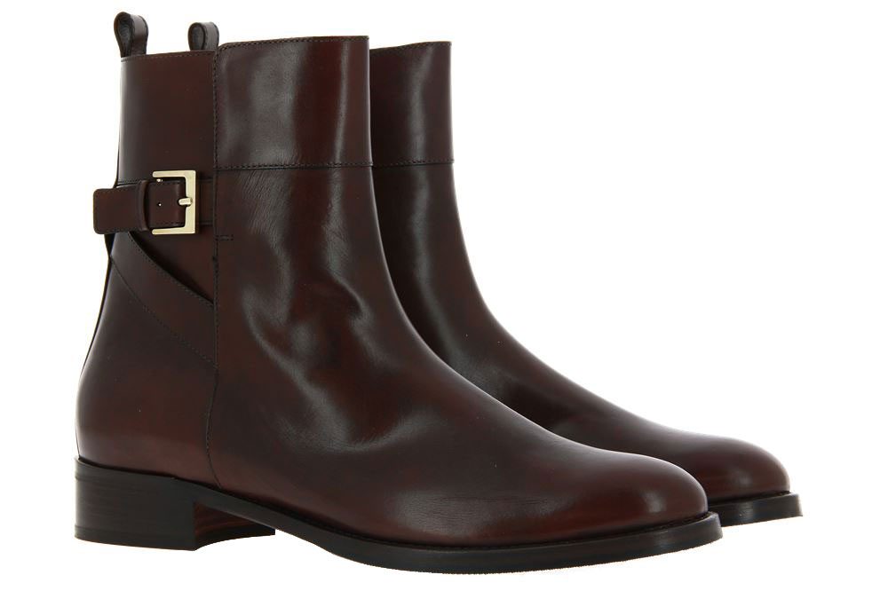 Maretto ankle boots LEATHER MARRON