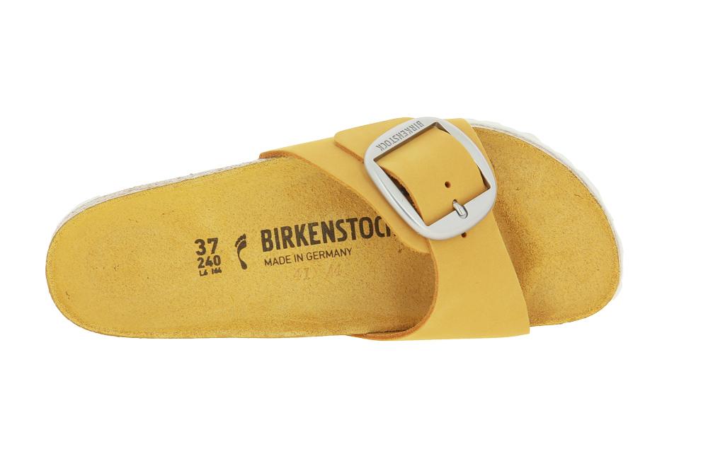 Birkenstock mules MADRID BIG BUCKLE SCHMAL APRICOT