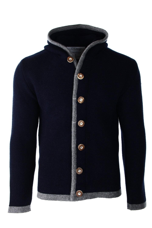 Liebling Tyrolean jacket THOMAS 2 NAVY GRAU