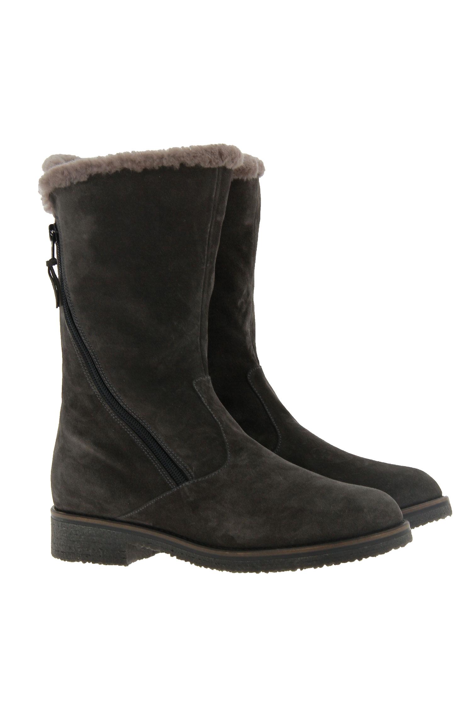 Baldan ankle boots lined VELOUR BISTRO