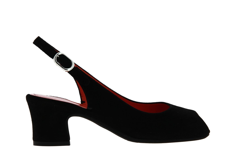 Pas de rouge sandals MILLY CAMOSCIO NERO