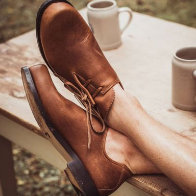 Traditional brogues